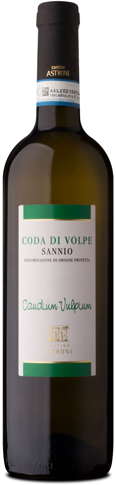 bottle of Coda di Volpe Sannio tradition line - Astroni