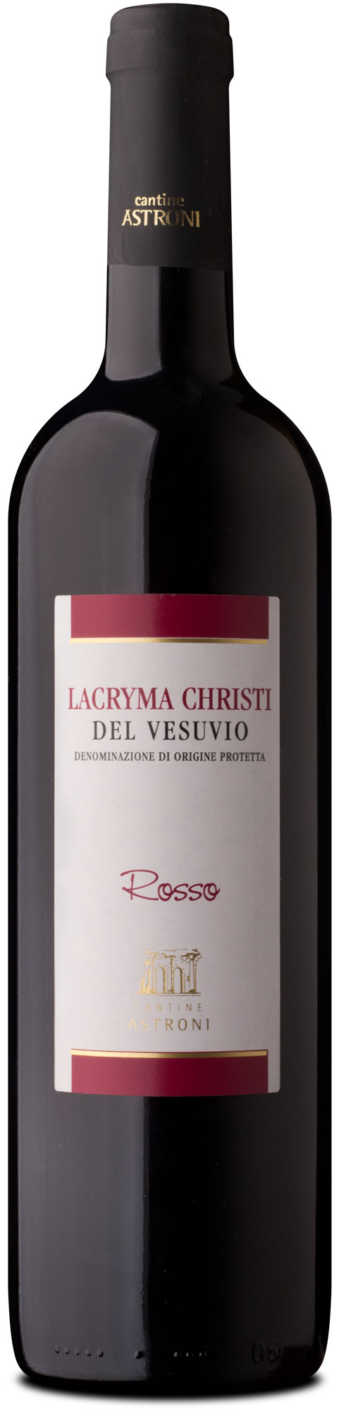 bottle of Lacryma Christi del vesuvio rosso tradition line - Astroni