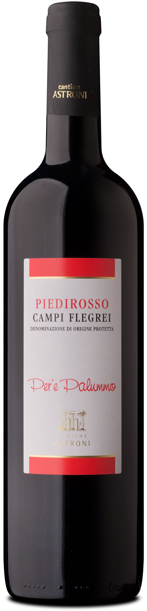 bottle of Piedirosso Campi Flegrei tradition line - Astroni
